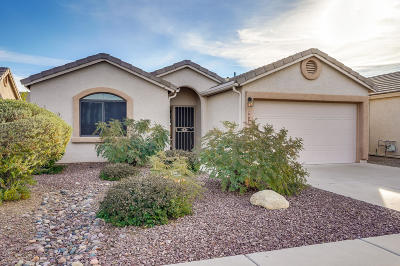 Tucson Single Family Home Active Contingent: 8517 S Maritime Place