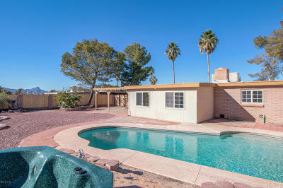 Pima County Single Family Home Active Contingent: 3561 W Nightflower Place