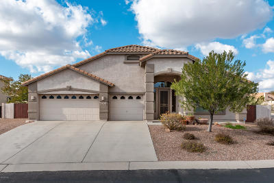 Pima County, Pinal County Single Family Home For Sale: 60960 E Rock Ledge Loop
