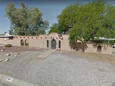 Tucson Single Family Home For Sale: 1802 S Avenida Planeta