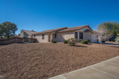 Pima County Single Family Home For Sale: 8933 N Majestic Mountain Drive