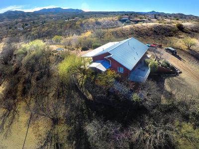 Patagonia Single Family Home For Sale: 537 Temporal Canyon Road