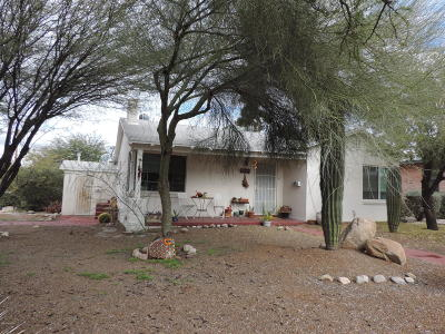 Tucson Single Family Home For Sale: 2801 E Helen Street