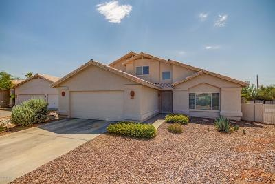 Oro Valley Single Family Home Active Contingent: 2092 W Hidden Pointe Court