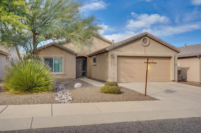 Tucson Single Family Home Active Contingent: 8582 S Compass Drive