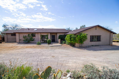Single Family Home For Sale: 12470 E Los Reales Road