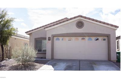 Sahuarita Single Family Home Active Contingent: 484 E Placita Nodo