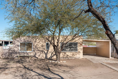 Tucson Single Family Home Active Contingent: 756 W Kelso Street