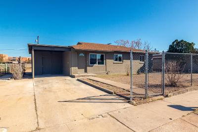 Pima County Single Family Home Active Contingent: 3249 S Irene Vista