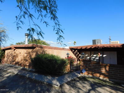 Pima County Single Family Home Active Contingent: 1230 N Camino Seco
