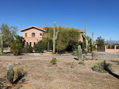 Tucson Single Family Home For Sale: 7200 W Picture Rocks Road