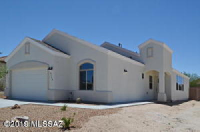 Pima County, Pinal County Single Family Home Active Contingent: 3690 S Manitoba Avenue S