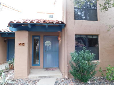 Tucson Townhouse For Sale: 5387 N Paseo De La Terraza