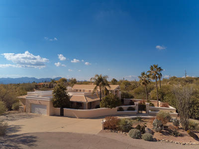 Tucson Single Family Home For Sale: 1400 E Orange Grove Road