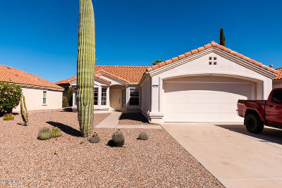 Oro Valley Single Family Home Active Contingent: 13949 N Trade Winds Way