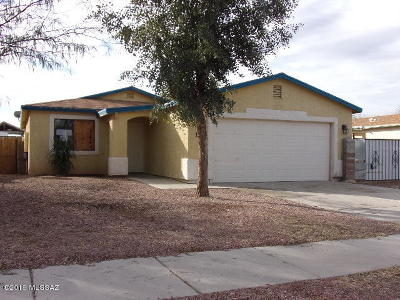 Tucson Single Family Home Active Contingent: 1370 E Milton Road