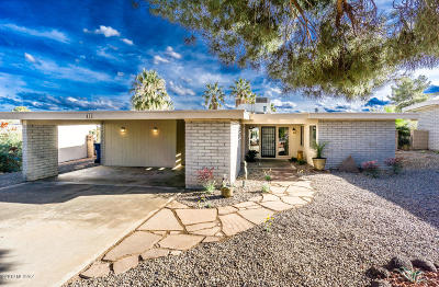 Pima County Single Family Home For Sale: 433 W Rio Altar