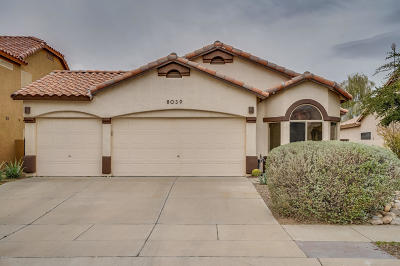Pima County Single Family Home For Sale: 8039 N Arcata Drive