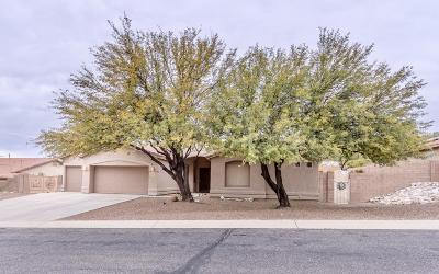 Tucson Single Family Home Active Contingent: 10969 E Vuelta Merecumbe