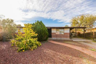 Tucson Single Family Home For Sale: 4918 E 25th Street