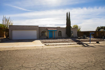 Tucson Single Family Home For Sale: 9840 E Celeste Drive