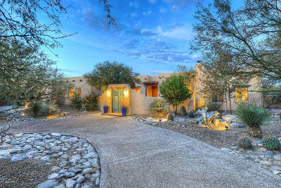 Single Family Home Active Contingent: 7610 E Camino Estado