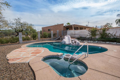 Pima County, Pinal County Single Family Home Active Contingent: 7001 N Montebella Road