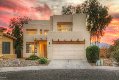Tucson Single Family Home Active Contingent: 3657 W Camino De Talia