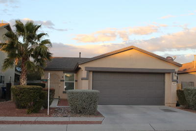 Pima County Single Family Home For Sale: 6365 S Sunrise Valley Drive