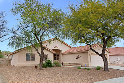 Single Family Home Active Contingent: 8661 E Dunbar Way