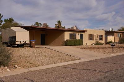 Tucson Single Family Home For Sale: 4134 W Jupiter Street