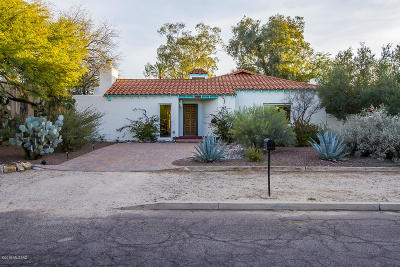 Tucson Single Family Home For Sale: 1330 E Linden Street