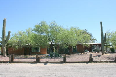 Tucson Single Family Home Active Contingent: 2841 W Puccini Place