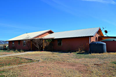 Cochise County Single Family Home For Sale: 3345 W Outland Way