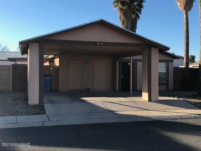 Tucson Single Family Home For Sale: 1983 W Brittain Drive