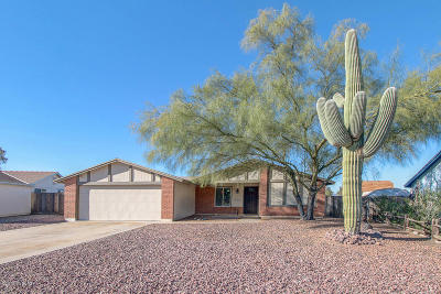 Tucson AZ Single Family Home For Sale: $189,000