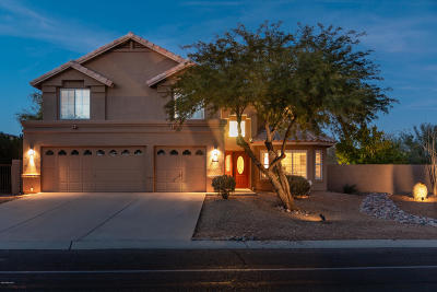 Oro Valley Single Family Home For Sale: 1880 W Canada Hills Drive