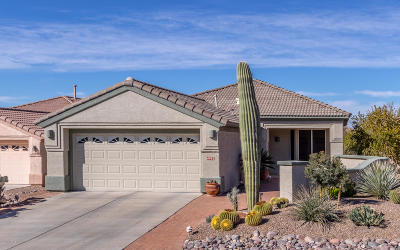 Pima County Single Family Home For Sale: 4992 W Desert Chicory Place