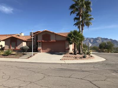 Tucson Single Family Home Active Contingent: 9770 N Camino Del Grillo