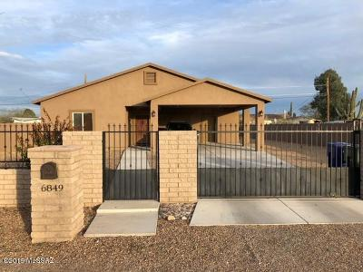 Pima County Single Family Home For Sale: 6849 S Burcham Avenue