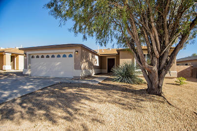 Tucson Single Family Home For Sale: 3625 S Twilight Echo Road