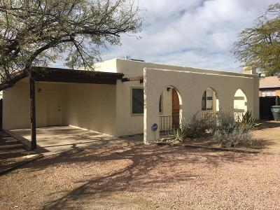 Tucson Single Family Home For Sale: 3879 N Tyndall Avenue