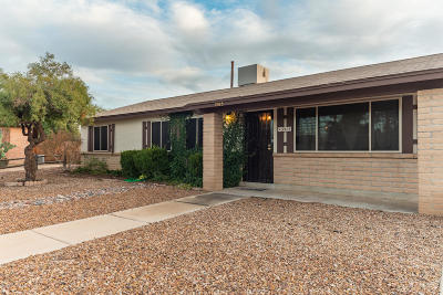 Tucson Single Family Home Active Contingent: 2915 W Watercress Drive