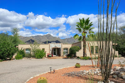 Tucson Single Family Home For Sale: 8001 E Ocotillo Drive