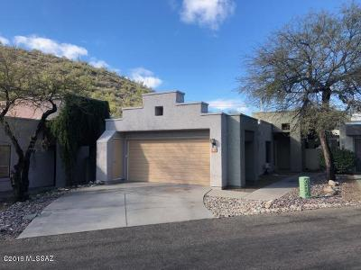 Tucson Single Family Home For Sale: 7212 E Crystal Mist Drive