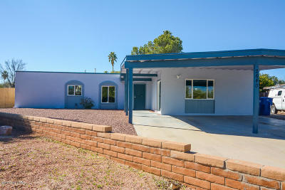 Tucson Single Family Home For Sale: 2640 S Panther Place