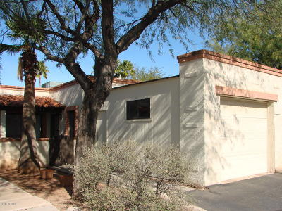 Tucson Townhouse For Sale: 4137 N Via Villas