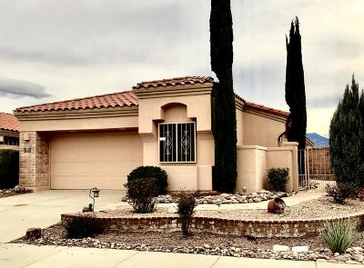 Green Valley Single Family Home For Sale: 1833 W Placita De Diciembre