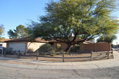 Tucson Single Family Home Active Contingent: 3341 W Wildwood Drive