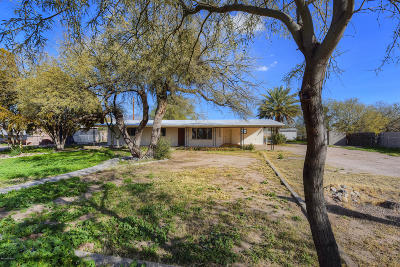 Tucson Single Family Home Active Contingent: 5120 N Shannon Road